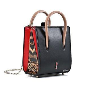 New Christian Louboutin Paloma Nano Calf Bag